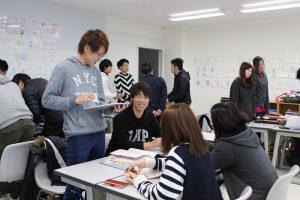 上級生と下級生が学年の壁を越えていっしょに学ぶグループ学習