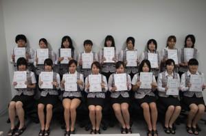 学科ブログ快挙!!   「医療事務管理士認定試験」全員合格!!